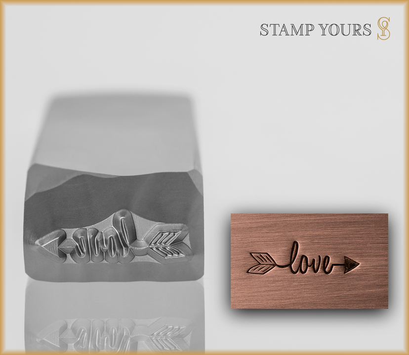 Love Arrow Design - Stamp Yours
