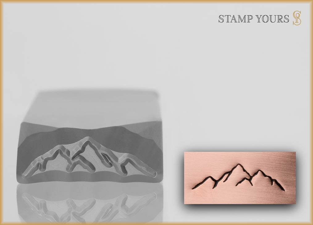Mountain Range #1 - Stamp Yours