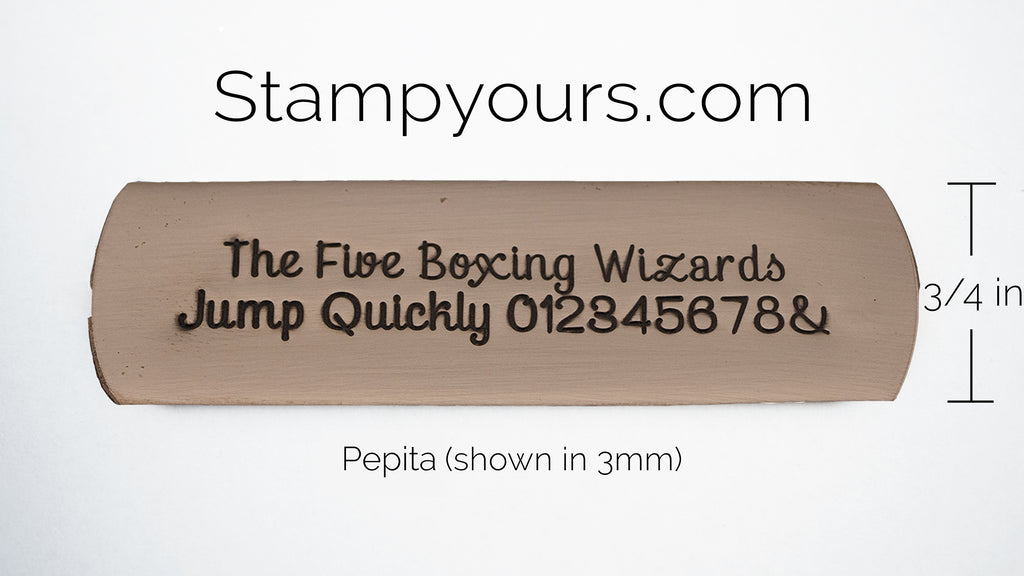 Pepita ( 2mm-5.5mm ) - Stamp Yours