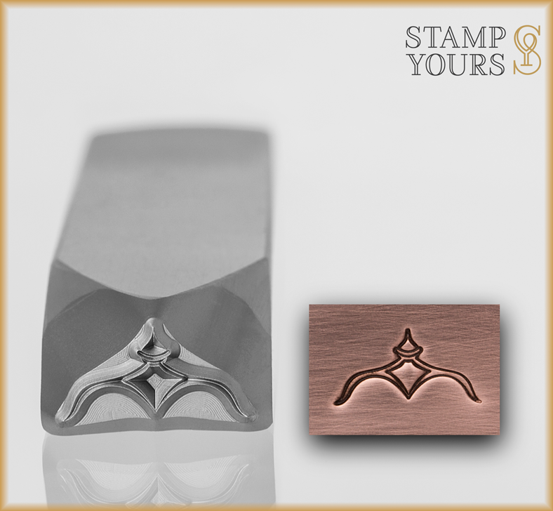 Design Composition Series - Finial Accent - Stamp Yours