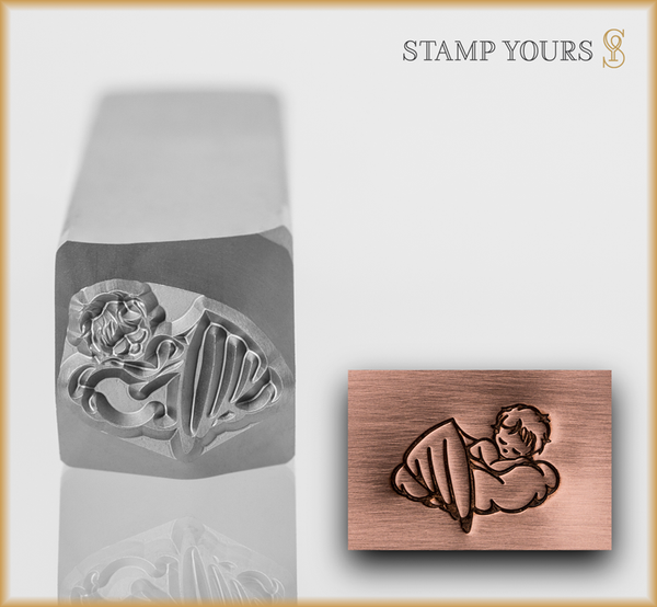 Baby Angel Design - Stamp Yours