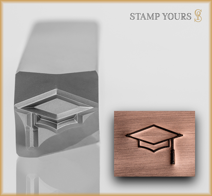 Graduation Cap Design - Stamp Yours