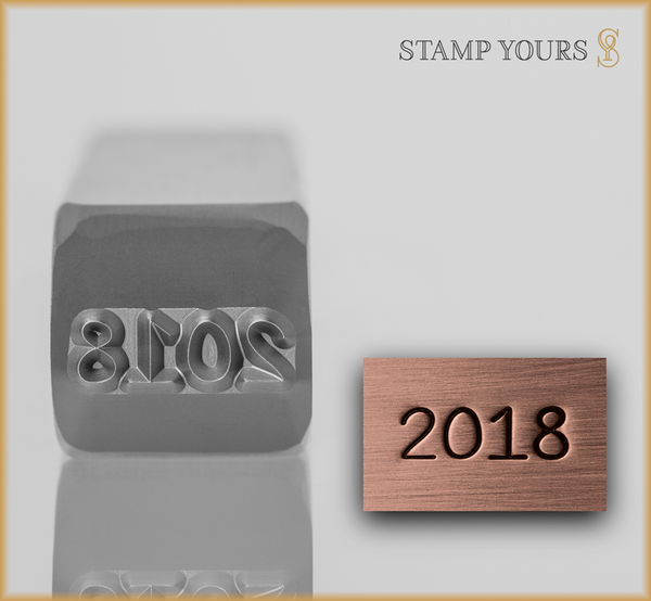 2018 Year Stamp Design - Stamp Yours