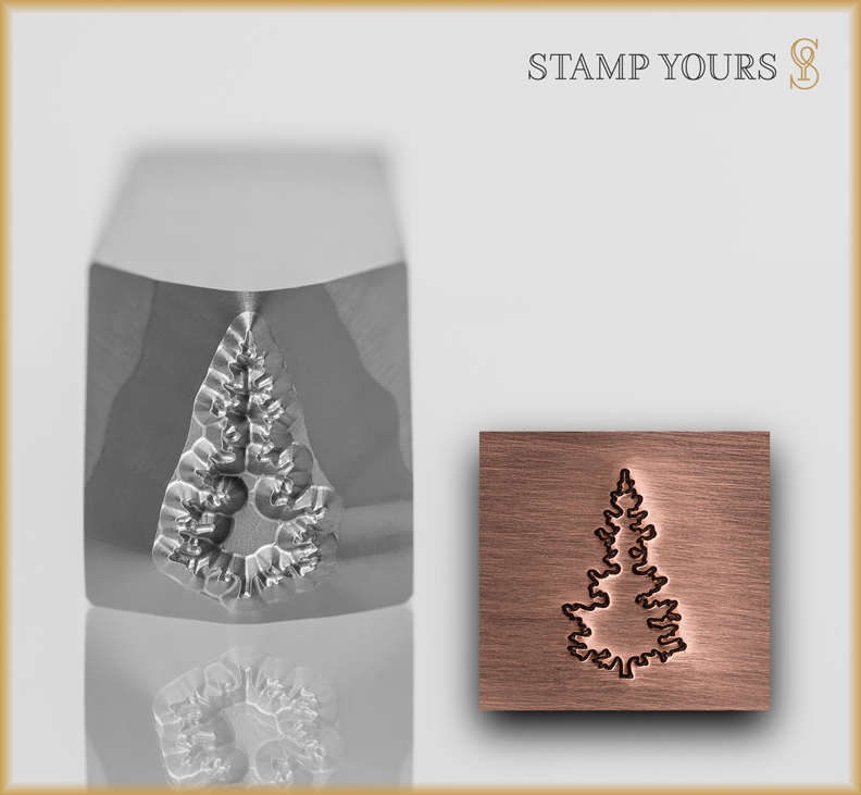 Christmas Tree Design #1 - Stamp Yours