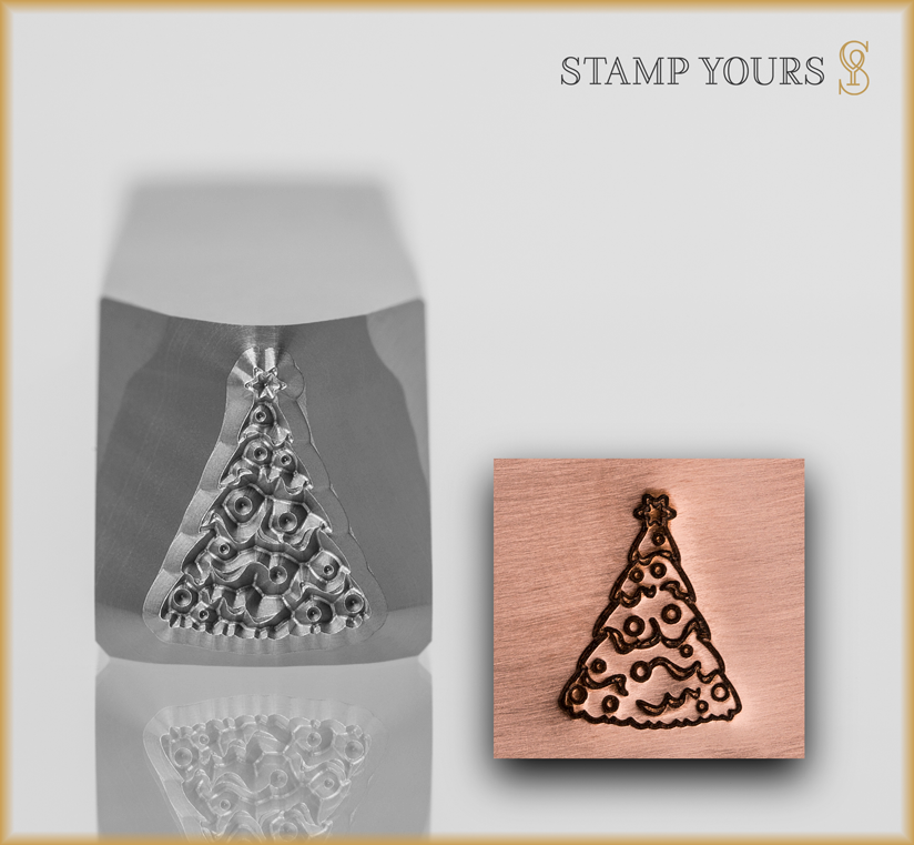 Christmas Tree Design #3 - Stamp Yours