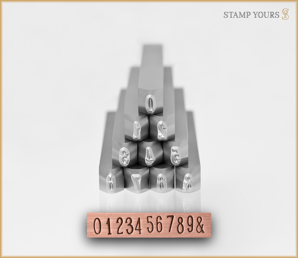 Hot Cakes 3.5mm Numbers - Stamp Yours