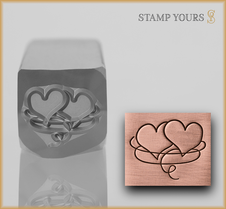 Intertwined Hearts - Stamp Yours
