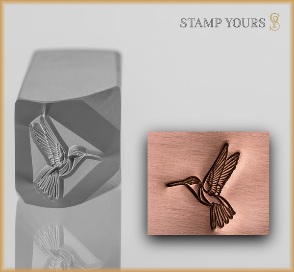 Stamp Yours Humming Bird Metal Design Stamp