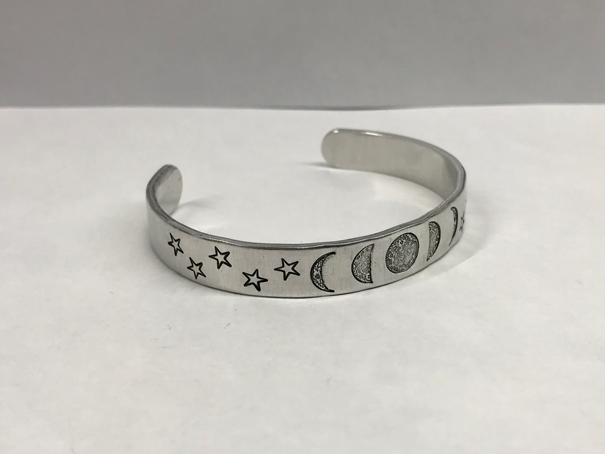 Star Outline Metal Stamp