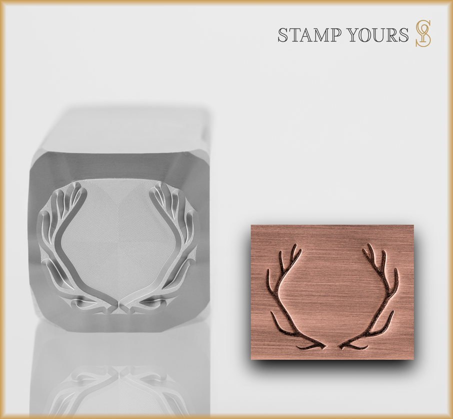 Antler Stamp - Stamp Yours