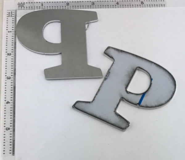 "Letter Blanks "" P "" - Stamp Yours"