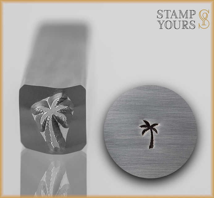 Palm Tree Design Stamp - Stamp Yours