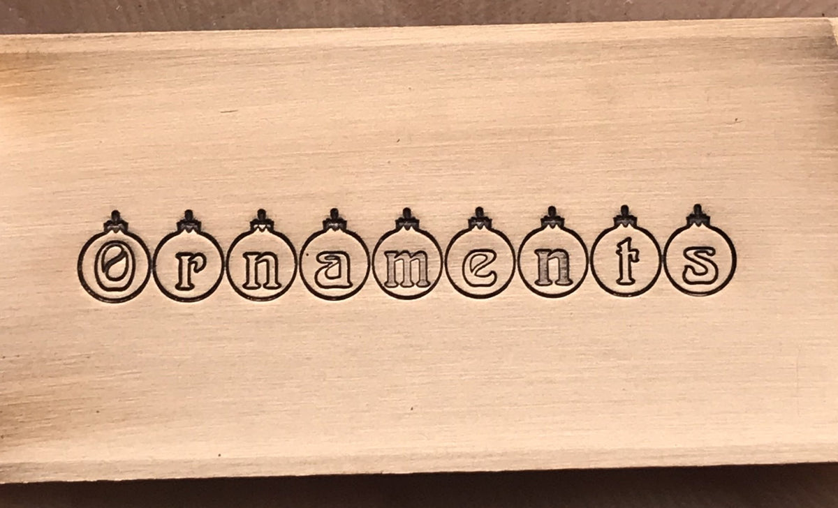 Ornaments 5mm - Stamp Yours