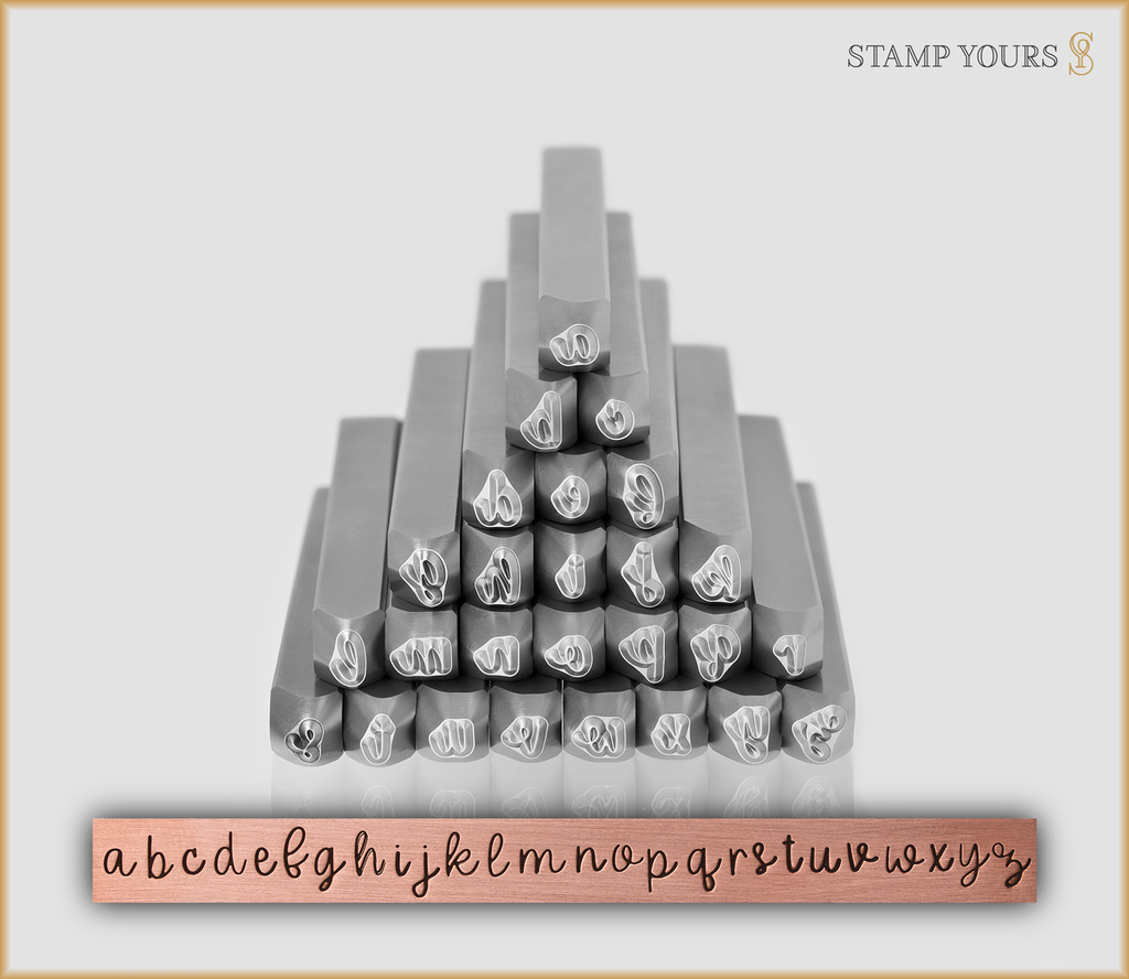 Pumpkin Spice 3mm Lowercase - Stamp Yours