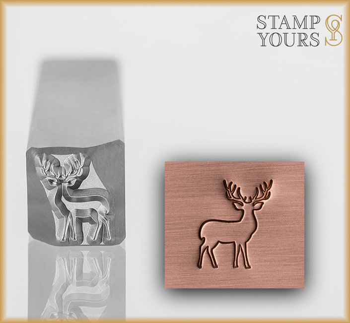 Reindeer - Stamp Yours