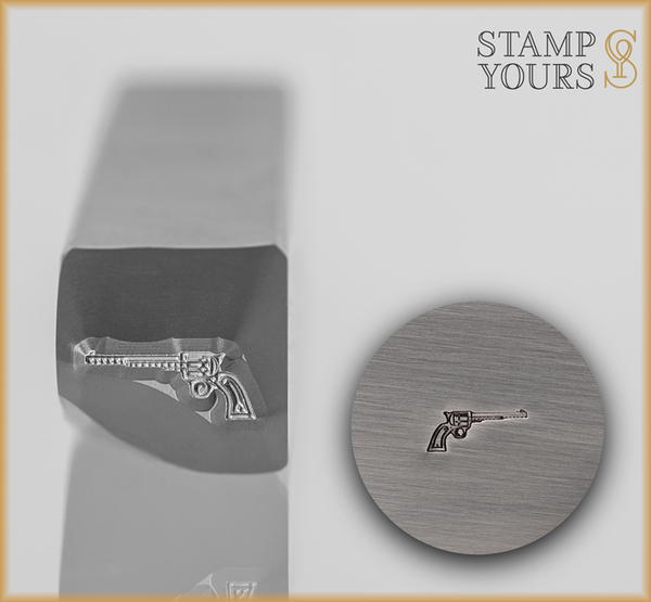 Revolver Design Stamp - Stamp Yours