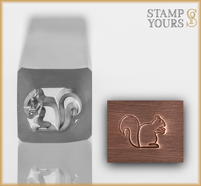 Squirrel - Stamp Yours
