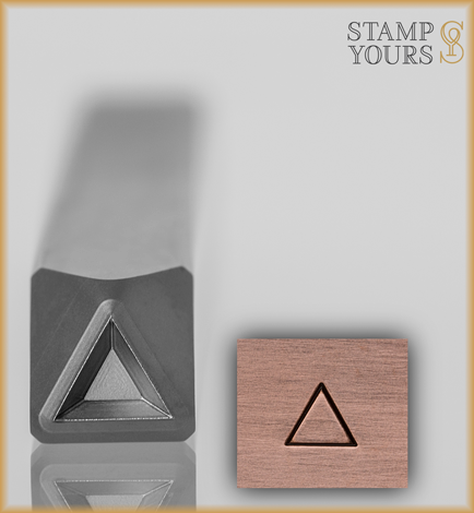 Triangle Design Stamp 4mm - Stamp Yours