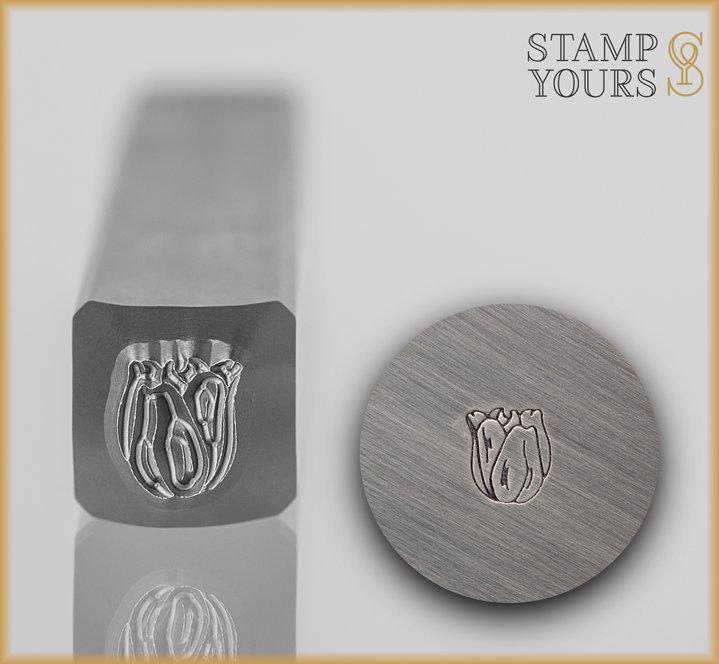 Tulip Flower Design Stamp - Stamp Yours