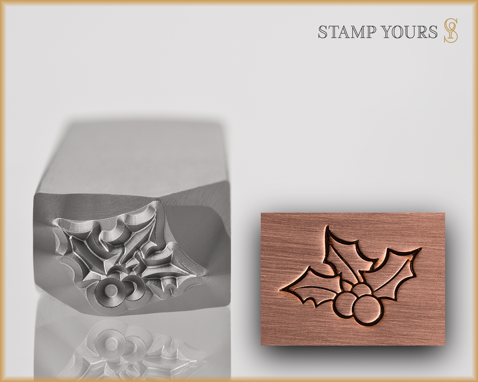 Mistletoe Design Stamp - Stamp Yours