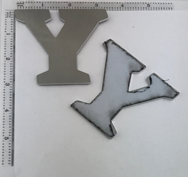 "Letter Blanks "" Y "" - Stamp Yours"