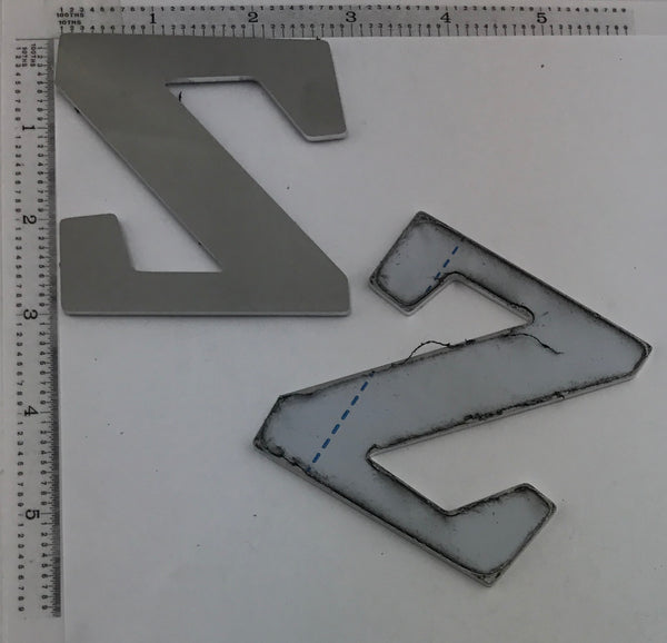 "Letter Blanks "" Z "" - Stamp Yours"
