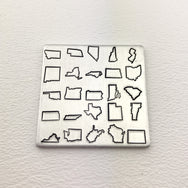 INDIVIDUAL State Design Stamps - Stamp Yours