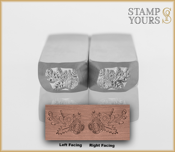 Holiday Flower Cluster - Stamp Yours