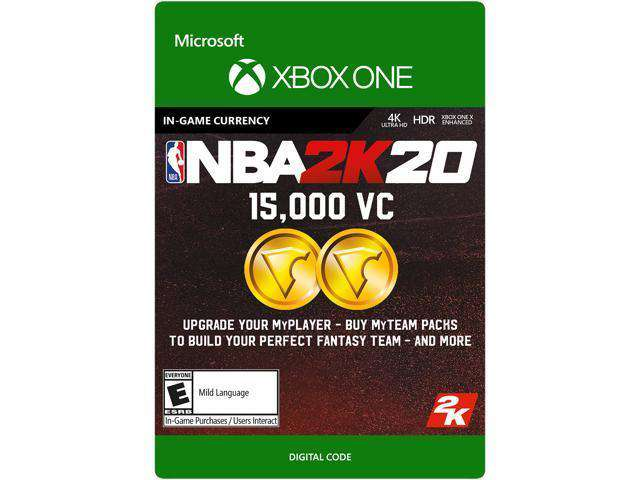 NBA 2K20:  VC Game Currency Xbox One [Digital Code]