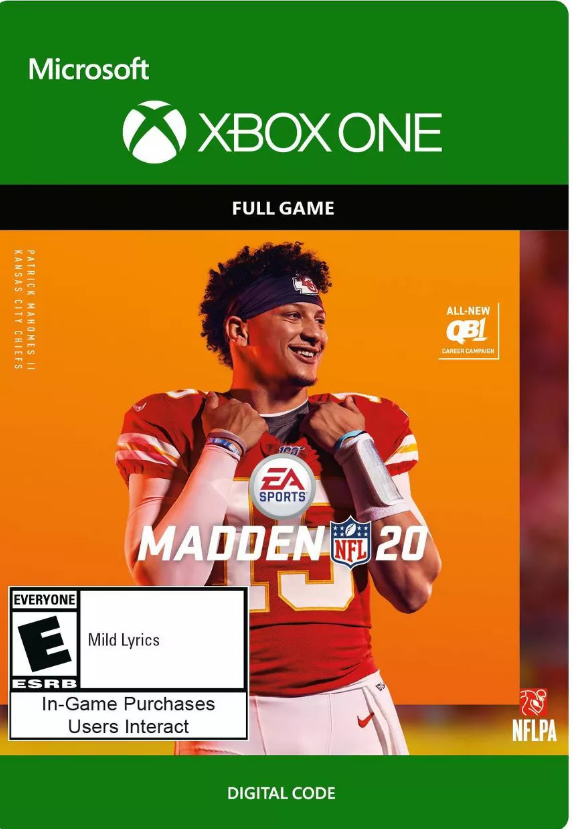 Madden NFL 20: Standard Edition [Xbox One Digital Code]