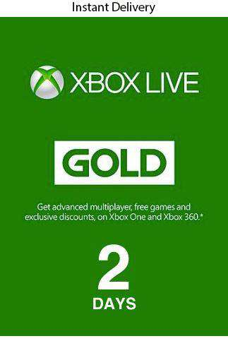 Xbox 2 Days Trial  (48 Hours) ( Email Delivery)