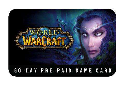 World of Warcraft 60 Day Pre-Paid Time Card - PC/Mac