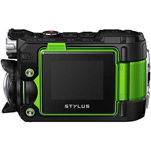 Olympus Stylus TG-Tracker 4K Action Cam Water/Shock/Freeze-proof Green (Refurbished)