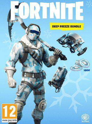 Fortnite Deep Freeze Bundle PS4  (Digital Download)