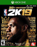 NBA 2K19 20th Anniversary Edition - Xbox One (Email Delivery)