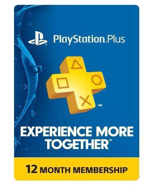 PlayStation Plus: 12 Month Membership (Physical Card)