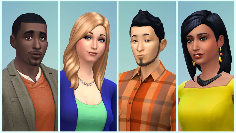 The Sims 4  for PC & MAC  [Online Game Code]