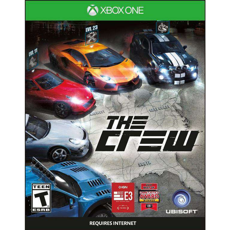 The Crew Xbox One Full Game [Digital Code ]