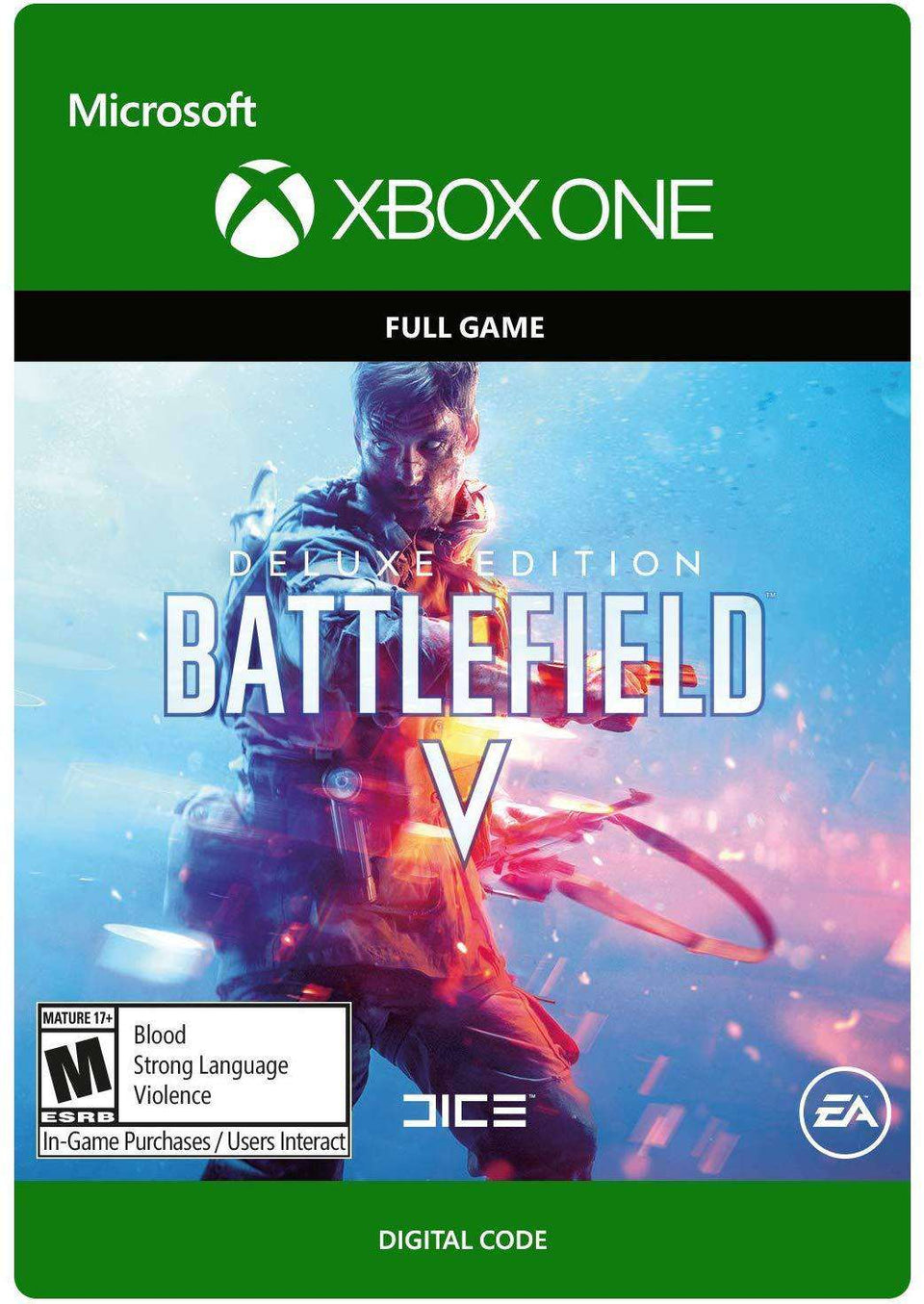 Battlefield V Deluxe Edition Xbox One [Digital Code]