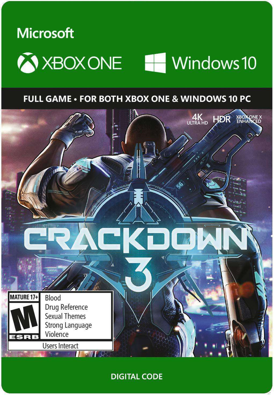 Crackdown 3 Xbox One / Windows 10 [Digital Code]
