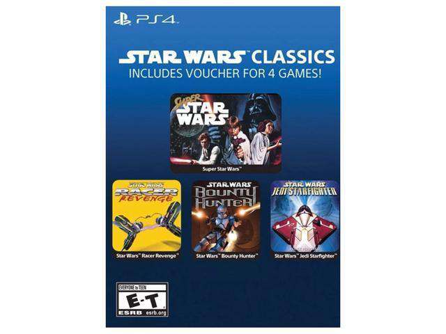 Star Wars Classics for PS4 ( 4 Games)  Digital Download
