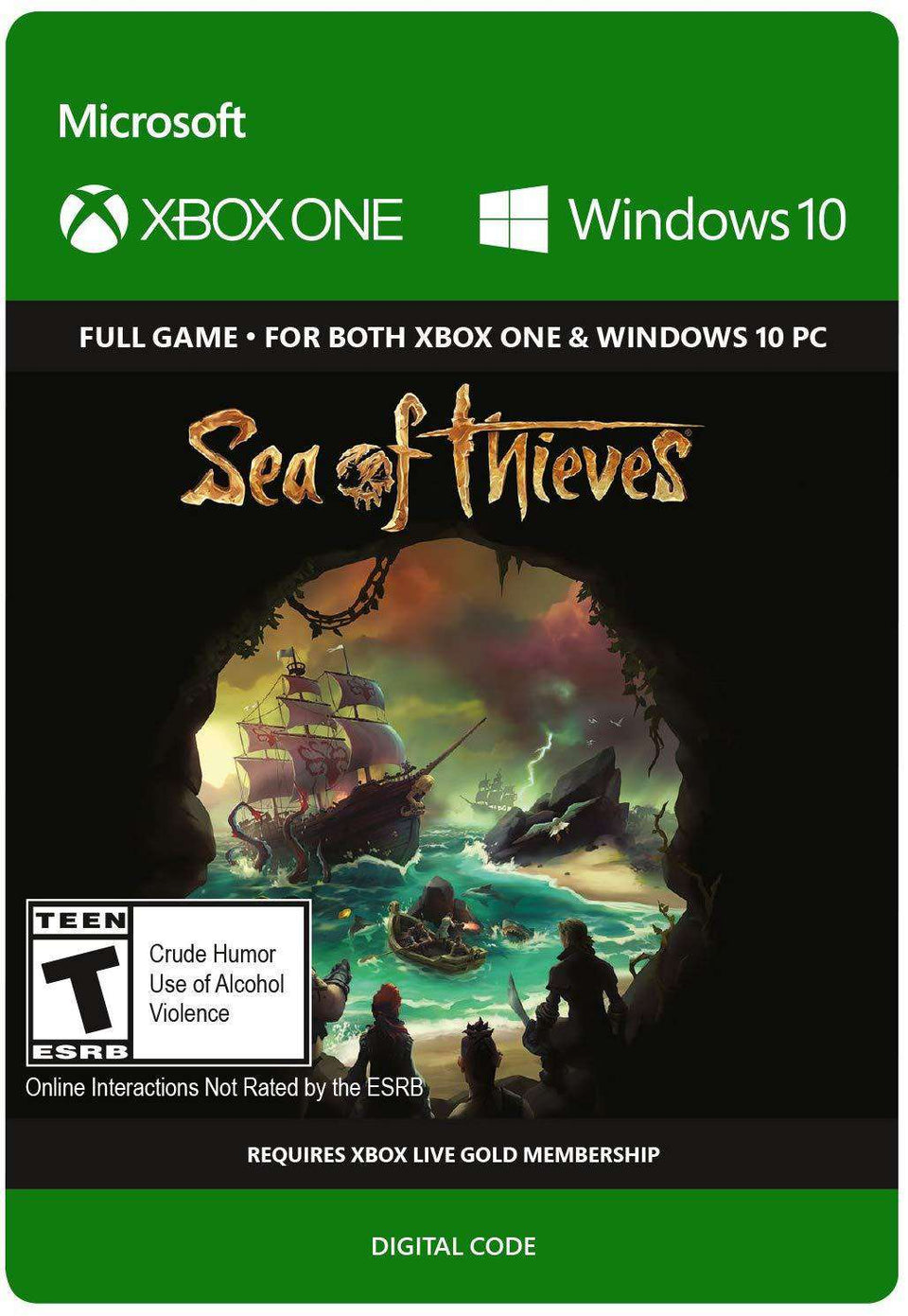 Sea of Thieves: Anniversary Edition Xbox One / Windows 10 [Digital Code]