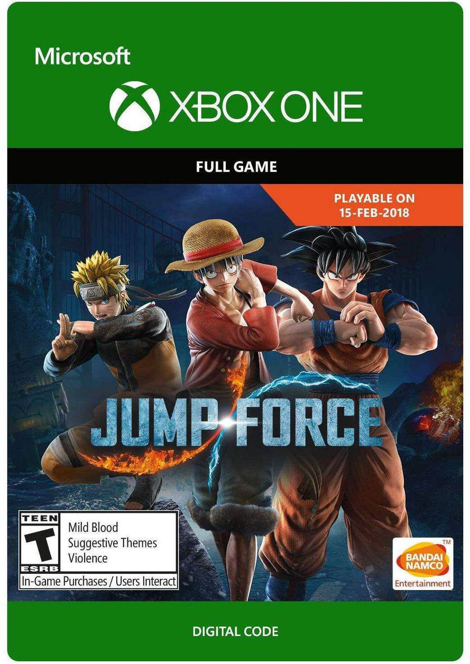 Jump Force: Standard Edition Xbox One [Digital Code]