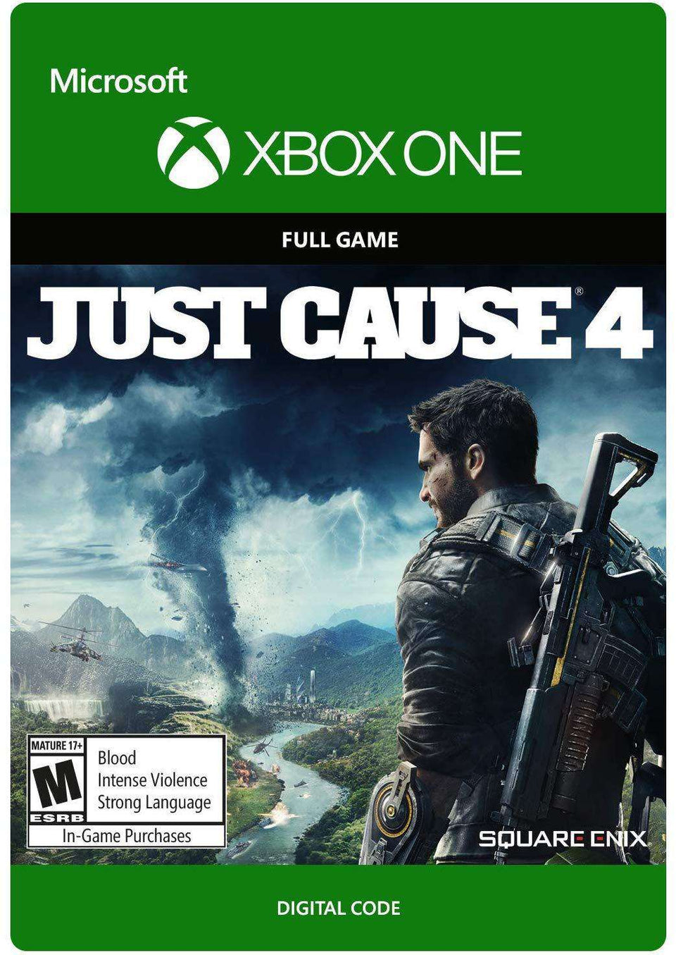 Just Cause 4: Standard Edition Xbox One [Digital Code]