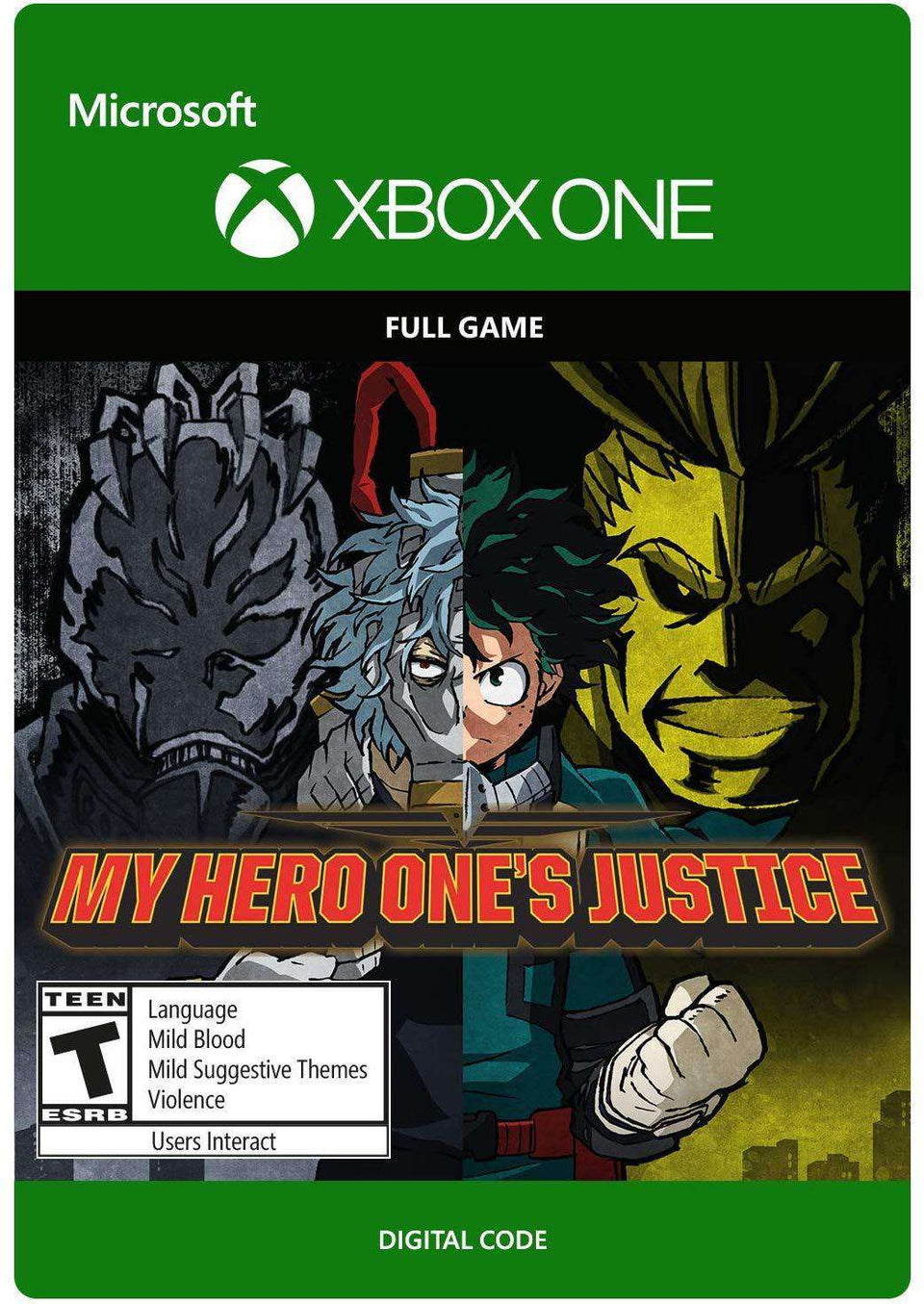 My Hero One's Justice Xbox One [Digital Code]