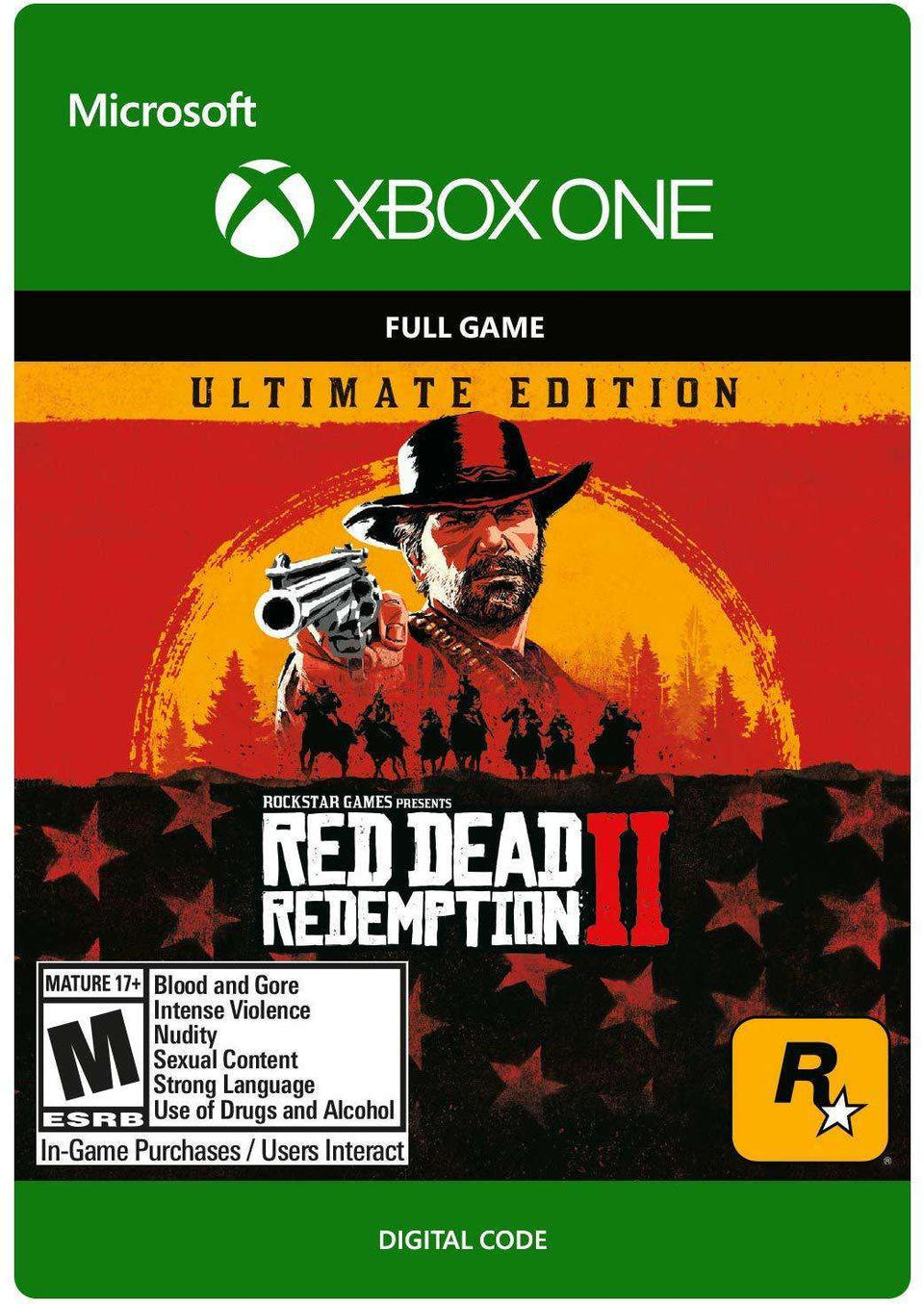 Red Dead Redemption 2 Ultimate Edition Xbox One [Digital Code]