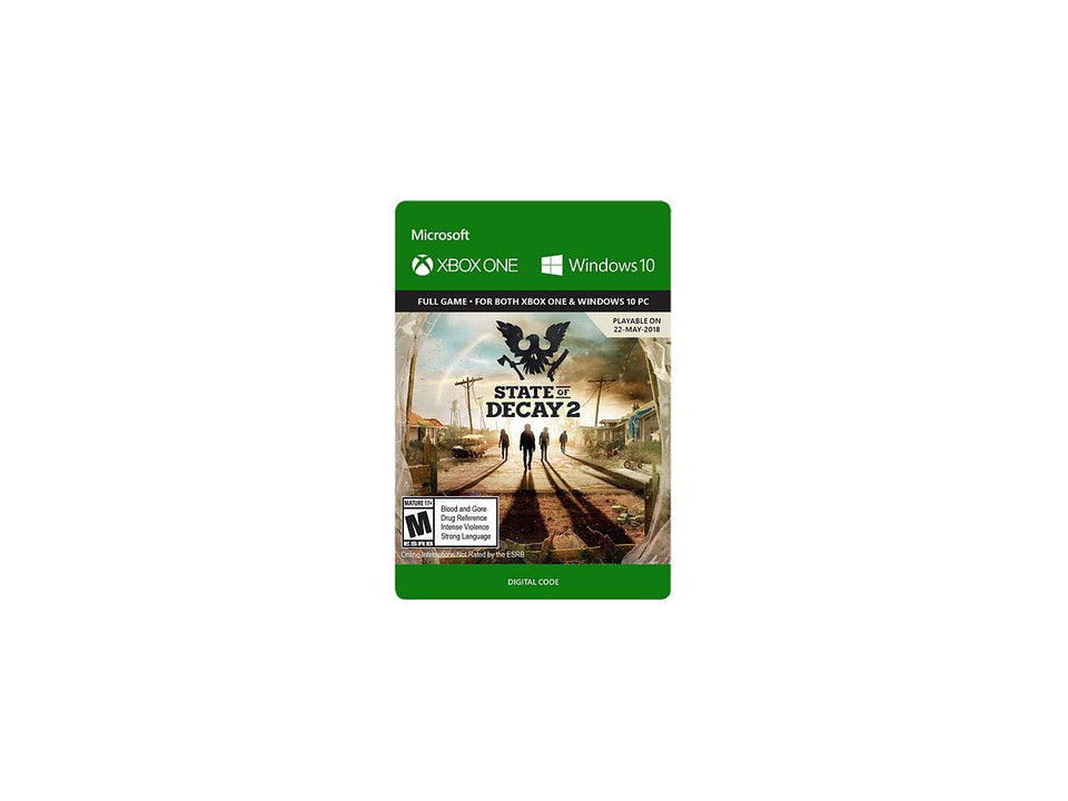 State of Decay 2 Xbox One [ Digital Download] Email Delivery