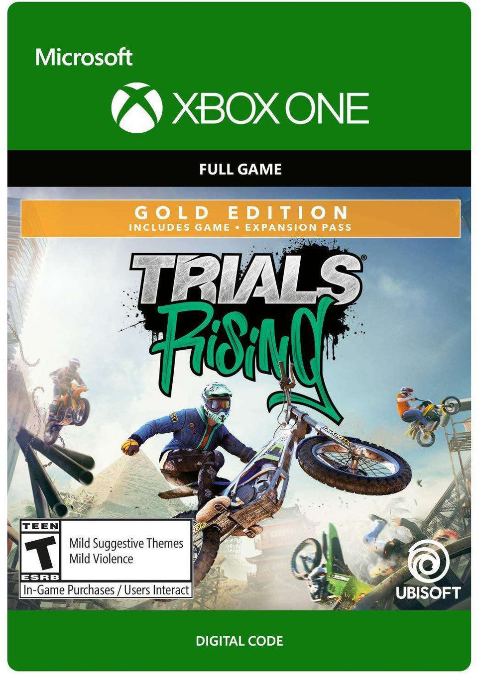 Trials Rising Gold Edition Xbox One [Digital Code]
