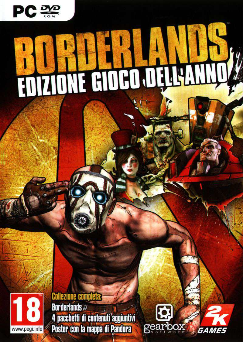 Borderlands Game of the Year EDITION Steam Key (Email Delivery) - Boxed Deal
