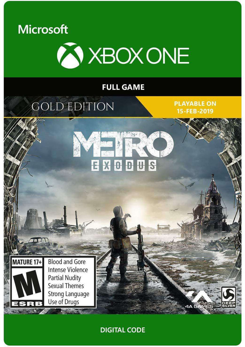 Metro Exodus Gold Xbox One [Digital Code]